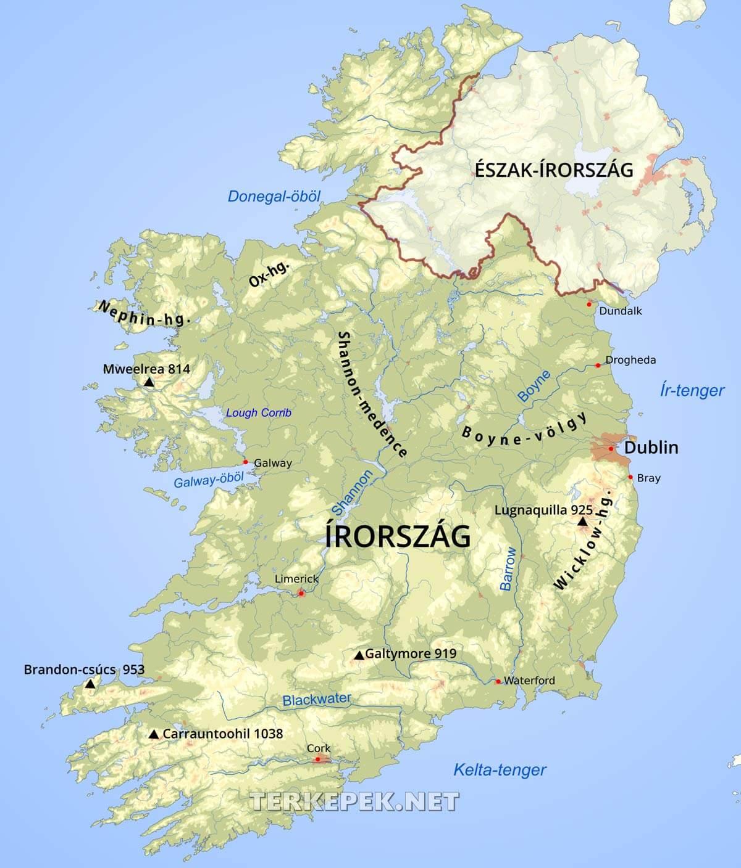Írország folyói